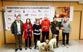 SETTERCLUB Campeonato Europeo Becadas Soria 2015 Resultados